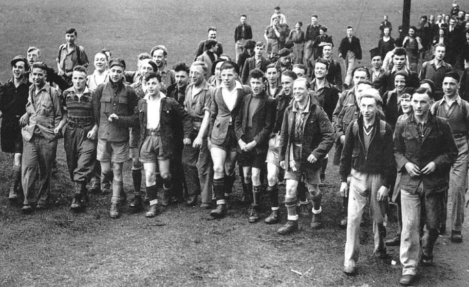 Kinder Mass Trespass Walking Group 1932