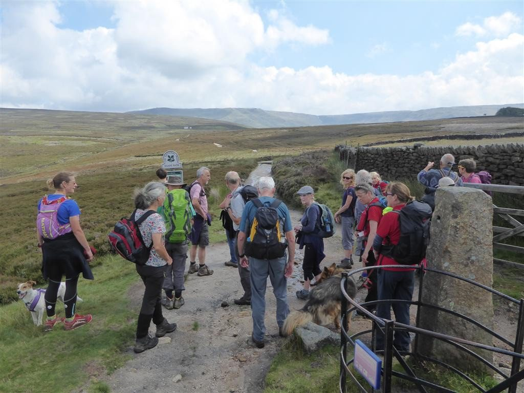 Trespass Walk with the NT, 29/07/19 - Middle Moor.