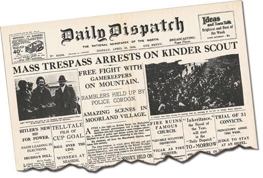 Daily Dispatch article - Monday 25 April 1932